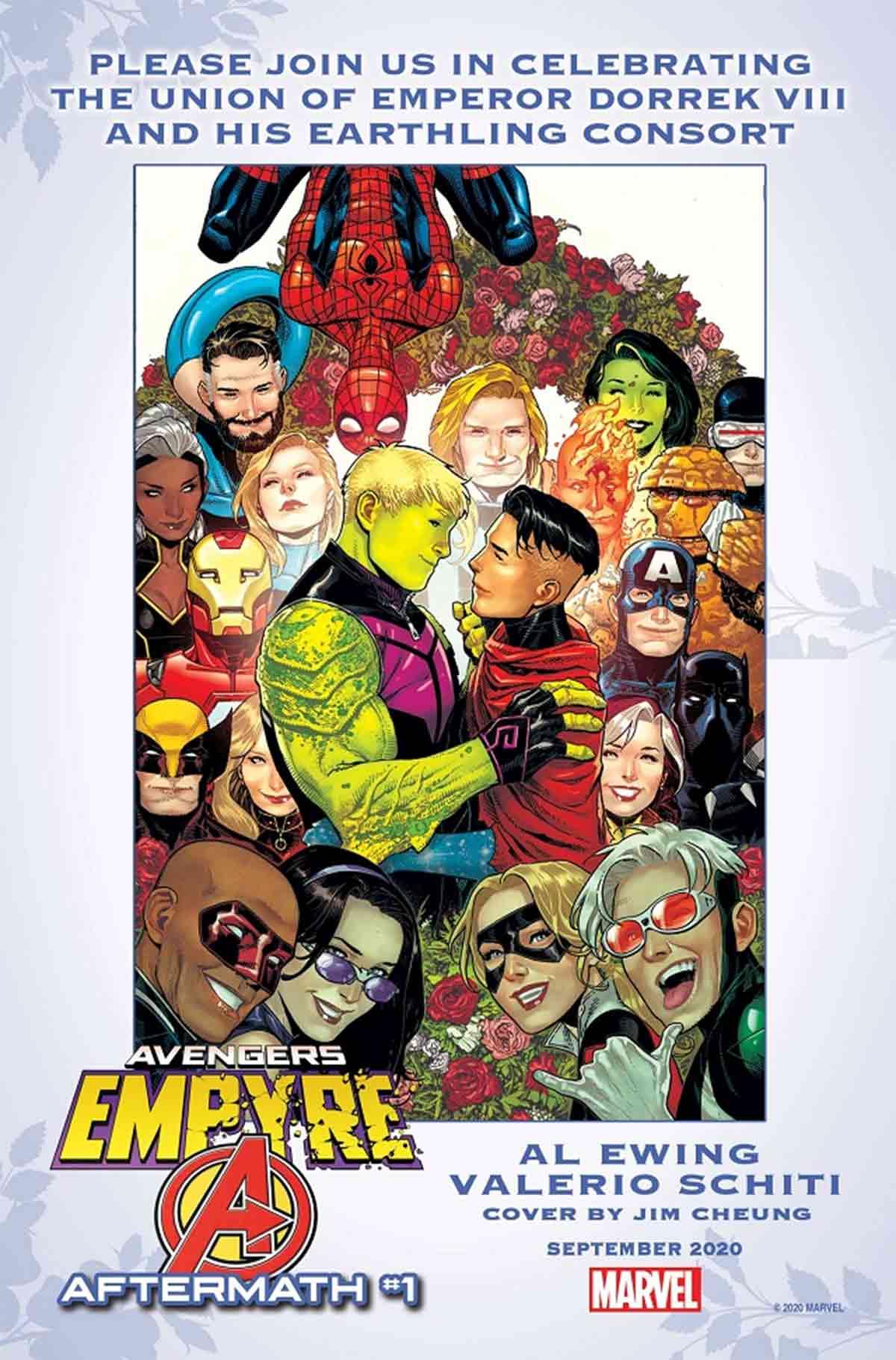 Marvel confirma el matrimonio gay de dos Vengadores