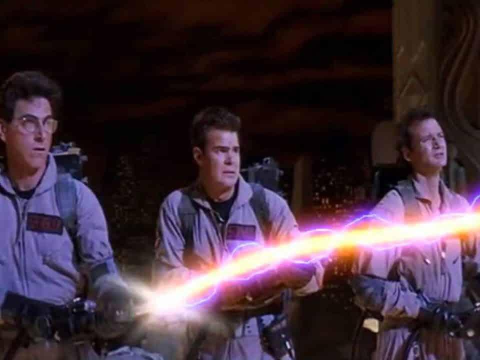 Espectacular vídeo de Cazafantasmas (1984) sin efectos especiales