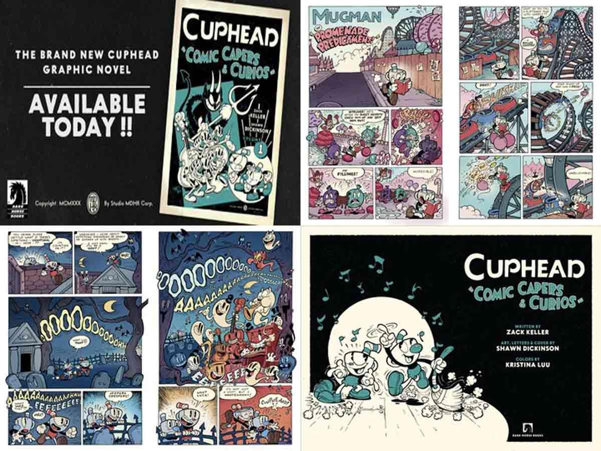 El videojuego Cuphead tiene su propio cómic