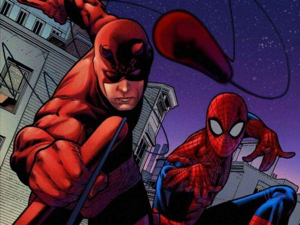 Daredevil recibió su nombre de Spider-Man