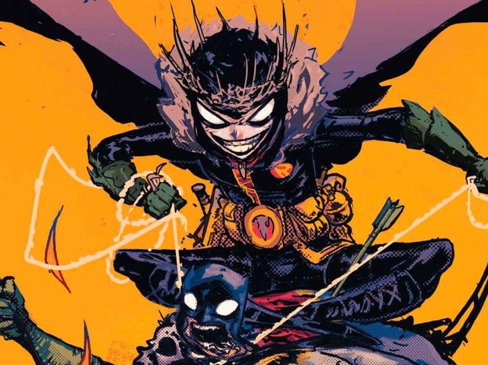 DC cuenta el origen del rey Robin