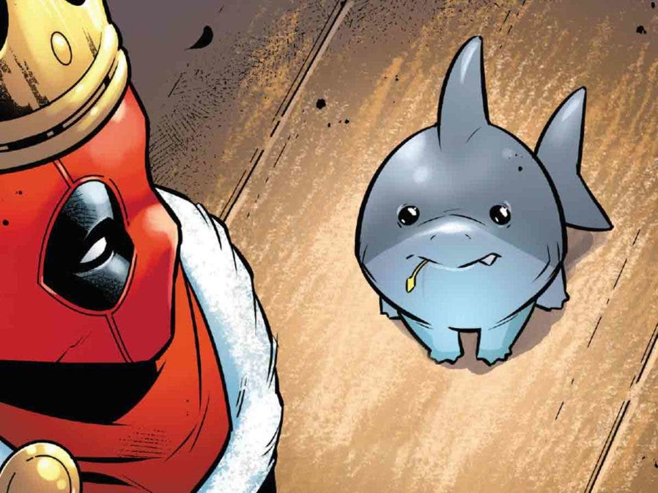 Deadpool tiene un nuevo compañero tan mono que te robará el corazón