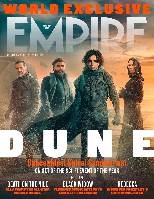 Portada de Empire Magazine DUNE