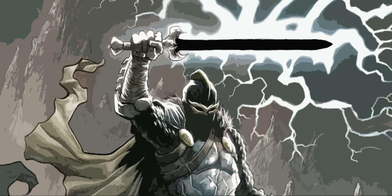 espada de ébano