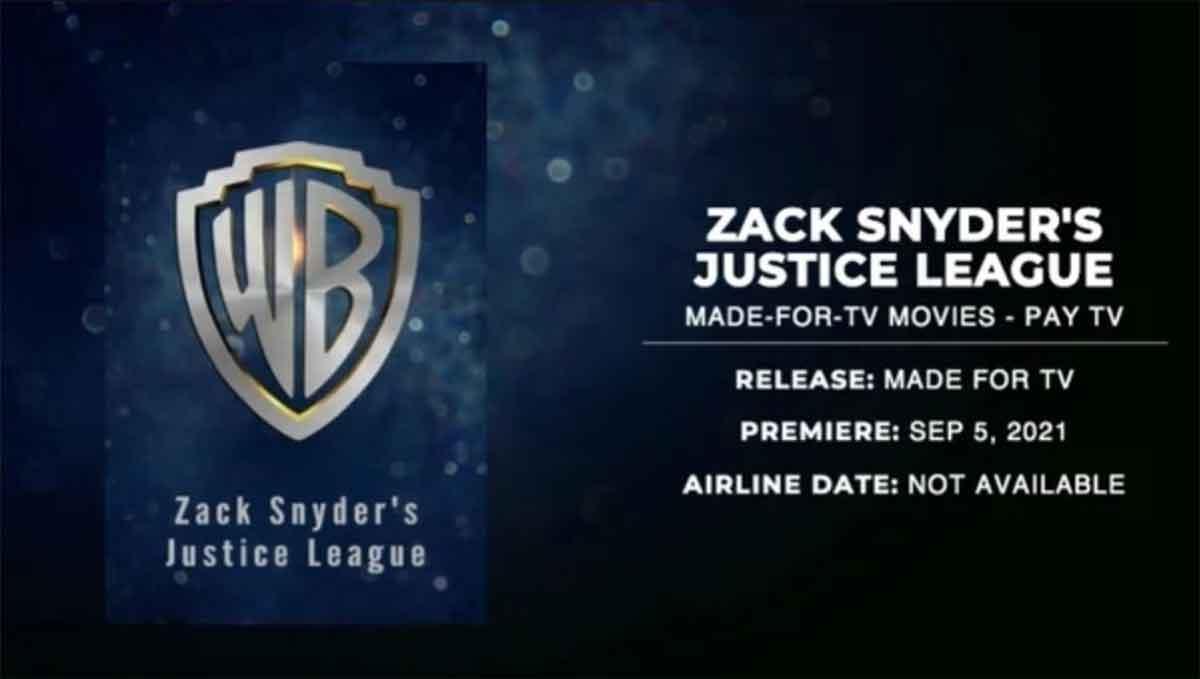 Filtran la fecha de estreno de Liga de la Justicia de Zack Snyder en HBO Max