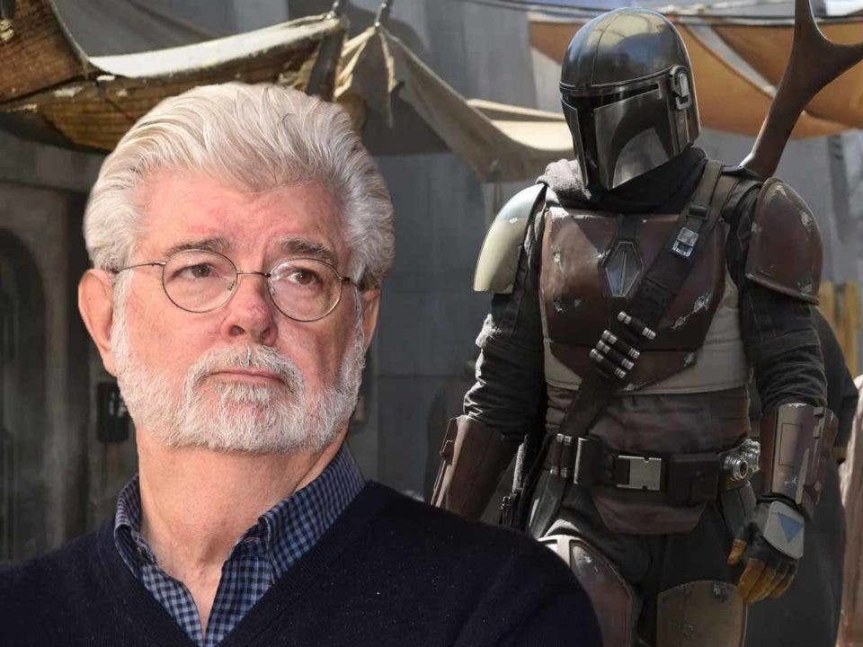 Así reaccionó George Lucas con la serie de El Mandaloriano