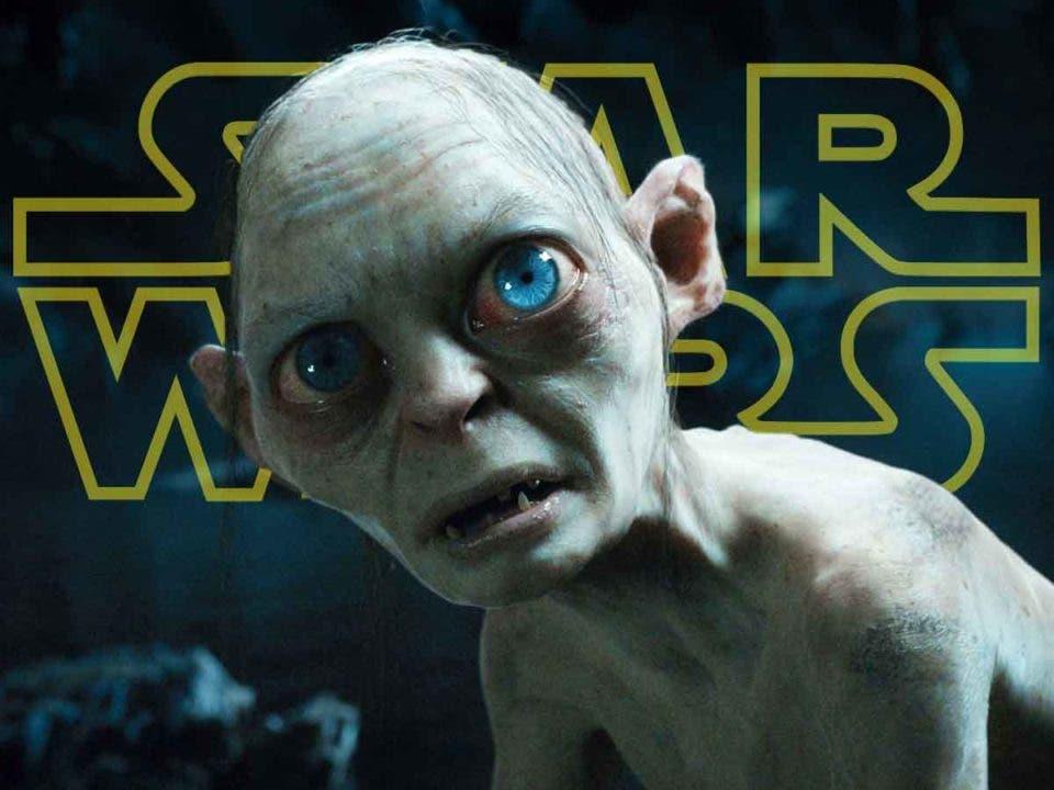 Gollum de El Señor de los Anillos es un Sith en Star Wars