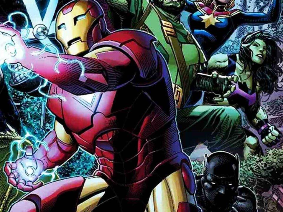 Imperio 0A Los Vengadores. Un veterano héroe de Marvel se pone una nueva armadura de Iron Man
