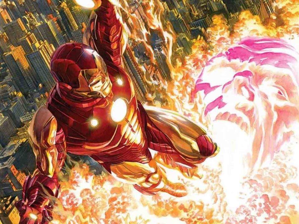 Iron Man se cansa de ser un superhéroe