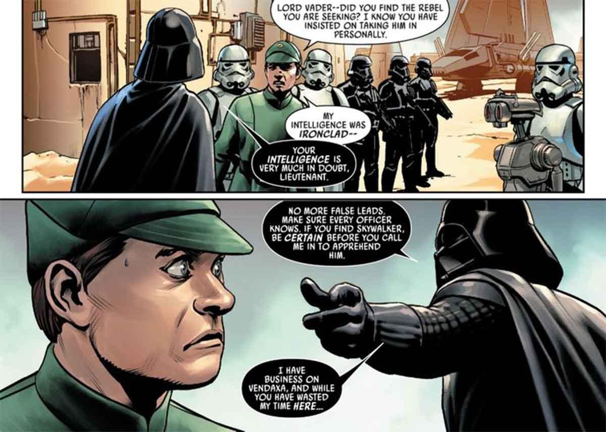 La verdadera razón por la que Luke Skywalker escapó de Darth Vader