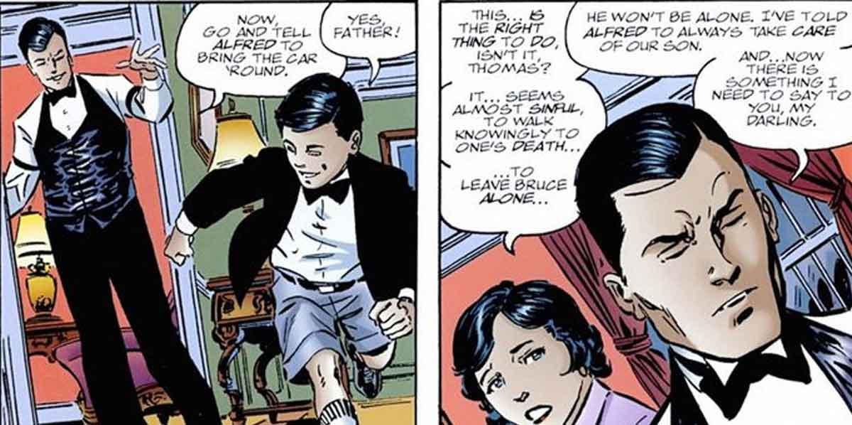 Los padres de Batman sabían que iban a morir en el oscuro callejón de Gotham