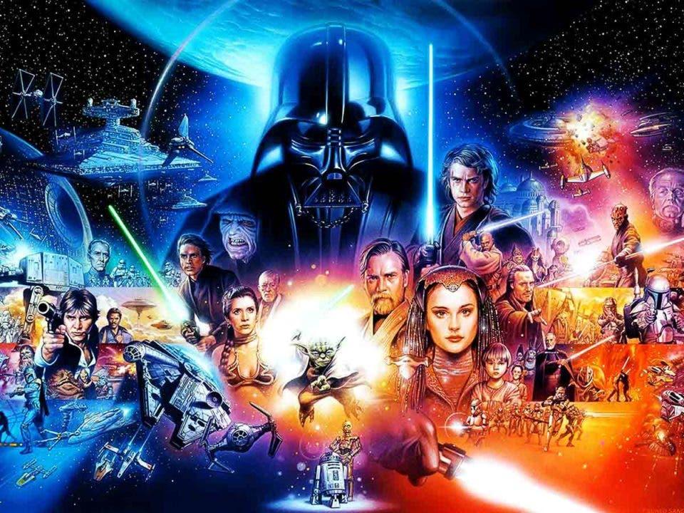 Los títulos de las películas de Star Wars en otro orden, tiene más sentido