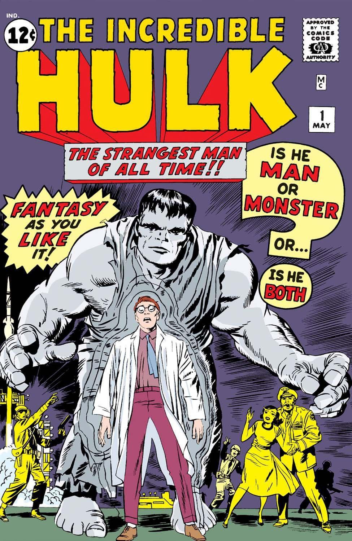 portada El increible hulk 1 de 1962