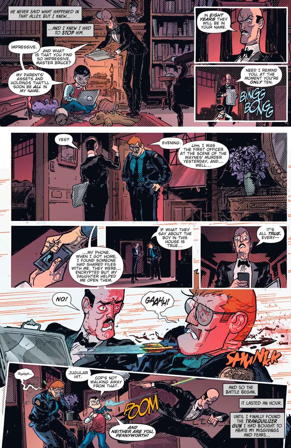 DC Comics revela el origen del Rey Robin