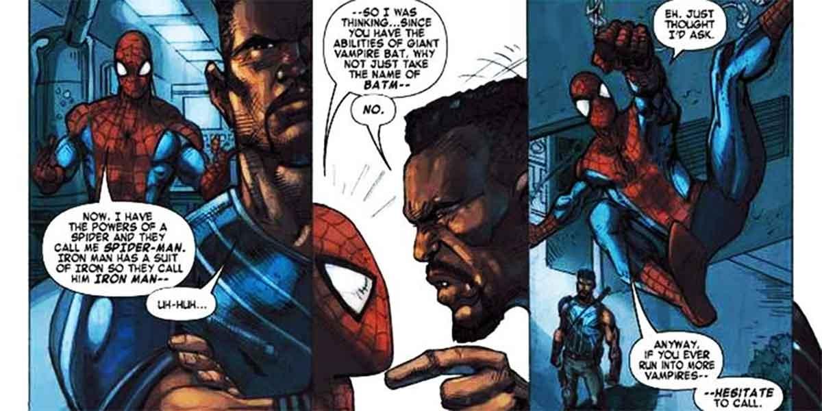Hay un personaje de Marvel que se enfada si le llamas Batman