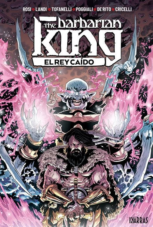 The Barbarian King Vol. 2: El Rey caído
