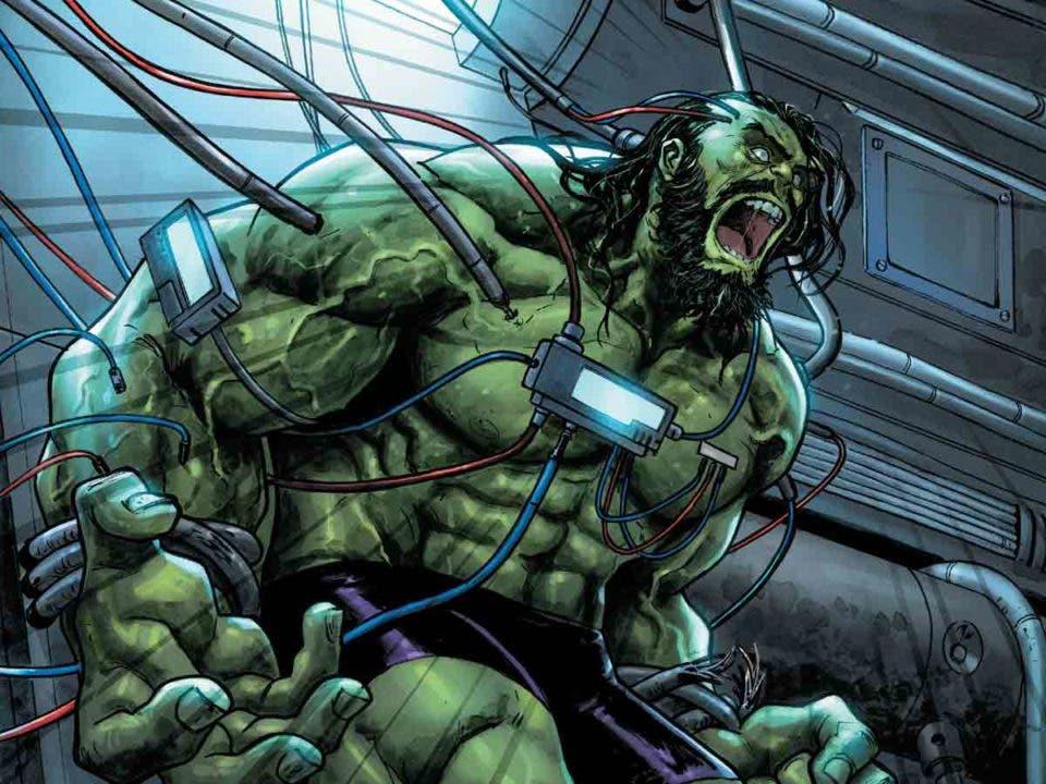 El truco de Viuda Negra no funciona con el Hulk de los cómics