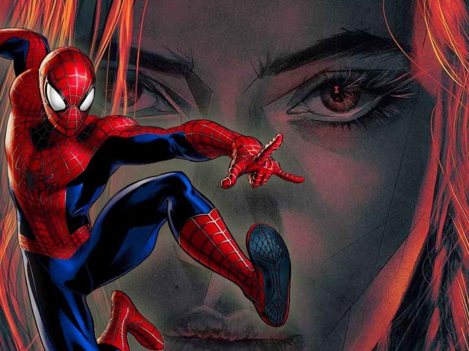 Viuda Negra envenenó a Spider-Man con un beso