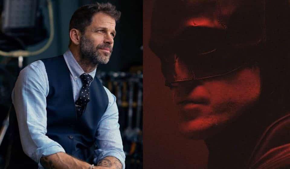 The Batman: Zack Snyder reaccionó al primer trailer