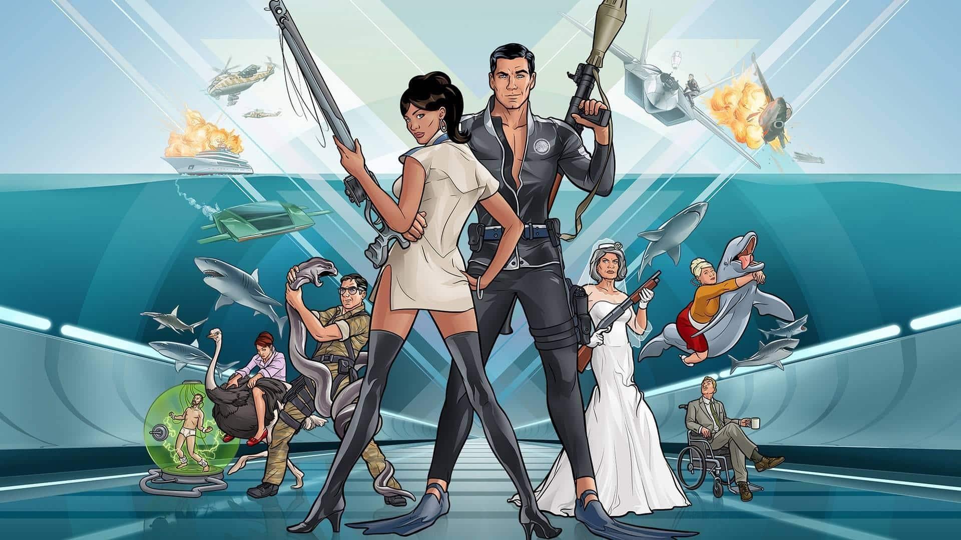 Archer new york Comic con