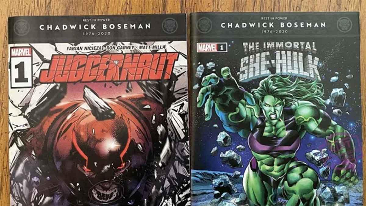 Chadwick Boseman será honrado en las portadas de los cómics de Marvel