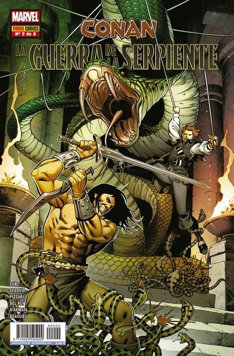 Conan: La Guerra de la Serpiente nº 2