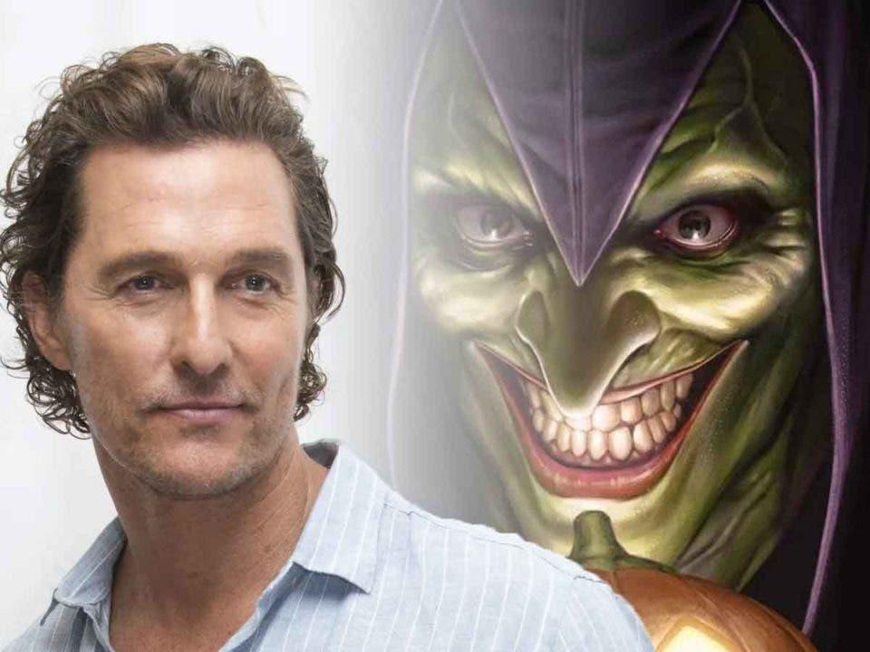 Espectacular Fan Art de Matthew McConaughey como el Duende Verde