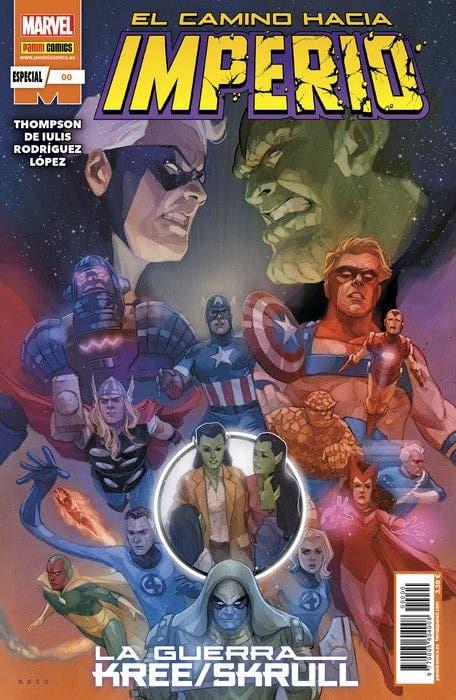 Imperio 00 de 4. El camino hacia Imperio: La Guerra Kree / Skrull