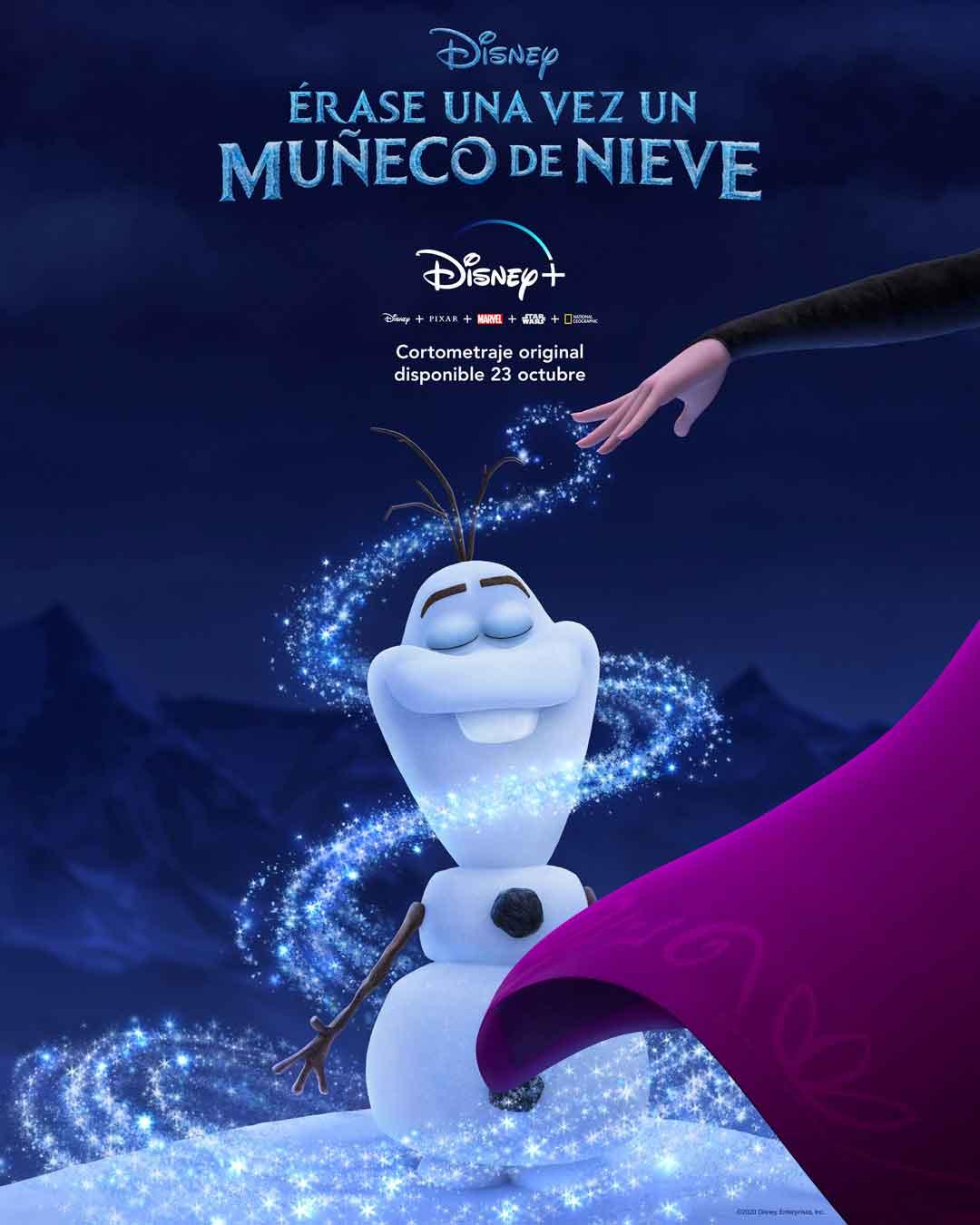 Disney + contará los primeros días de Olaf en Frozen
