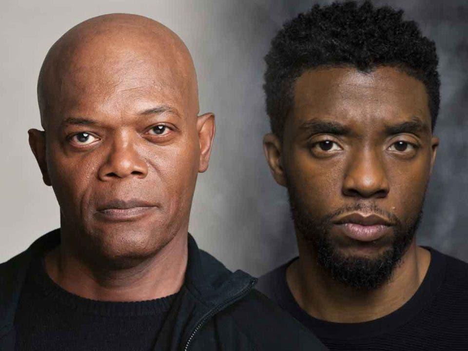 Samuel L Jackson estaba planeando una película con Chadwick Boseman