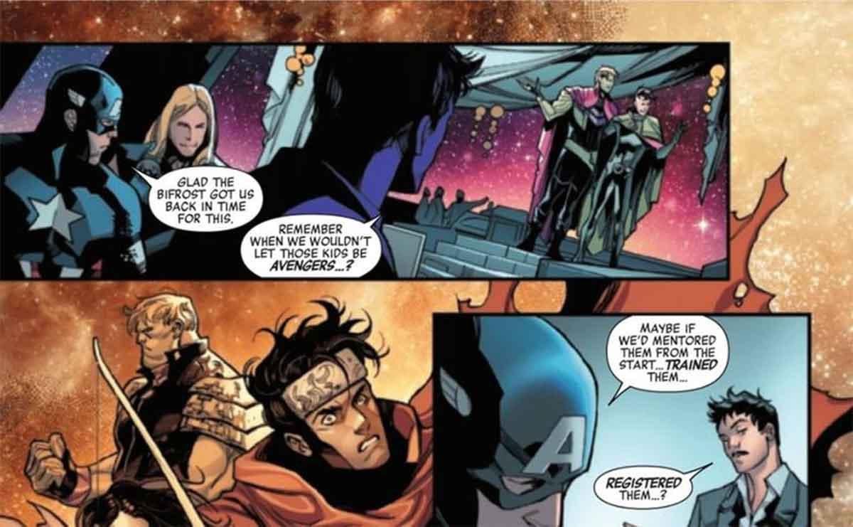 Iron Man y Capitán América casi reavivan la Civil War de Marvel