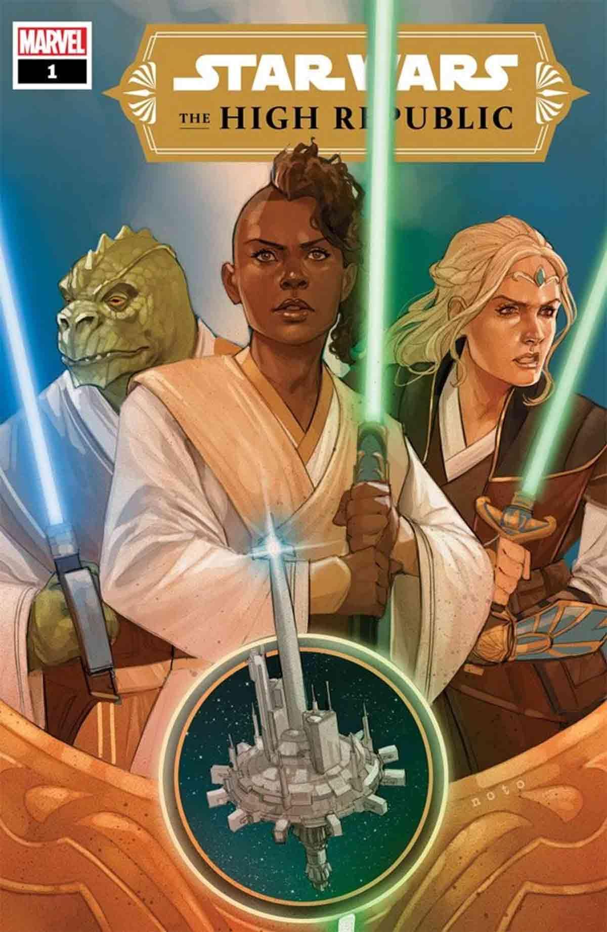 Star Wars comparte imágenes del primer cómic de la Alta República