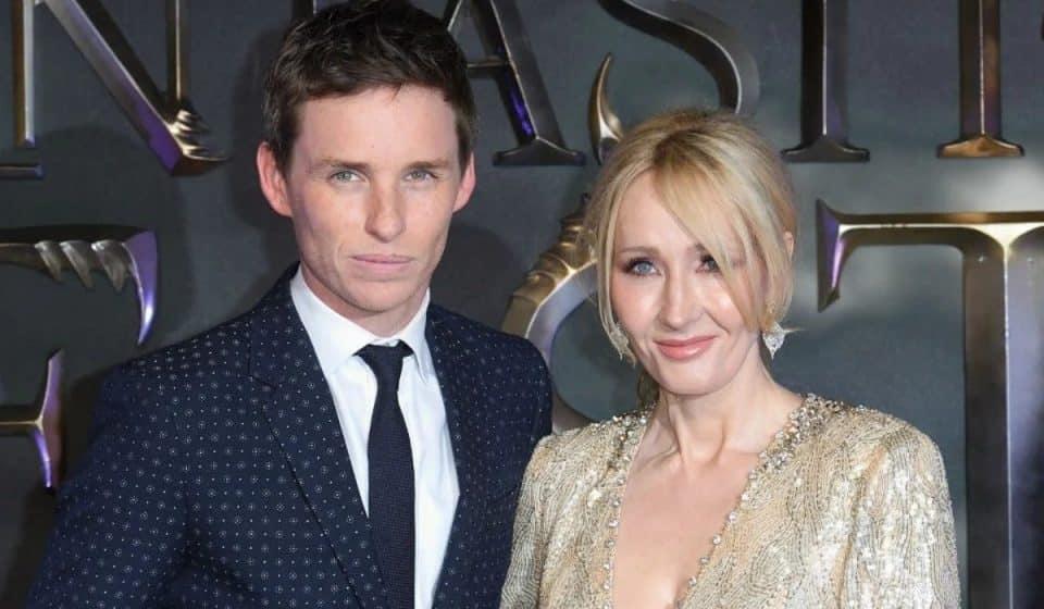Eddie Redmayne defendió públicamente a J.K. Rowling