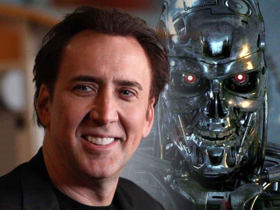 Espectacular Fan Art de Nicolas Cage como Terminator