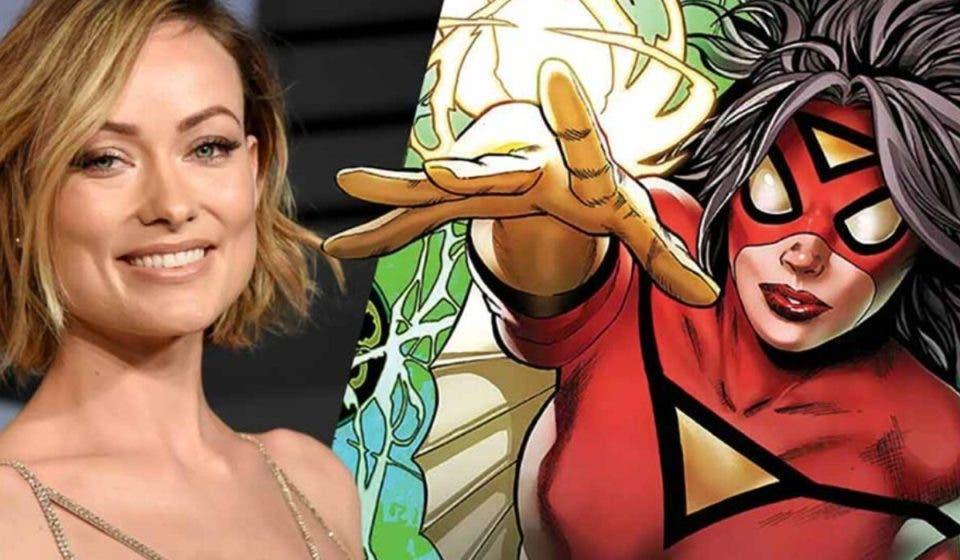 Olivia Wilde insinúa que Spider-Woman encajaría en el UCM