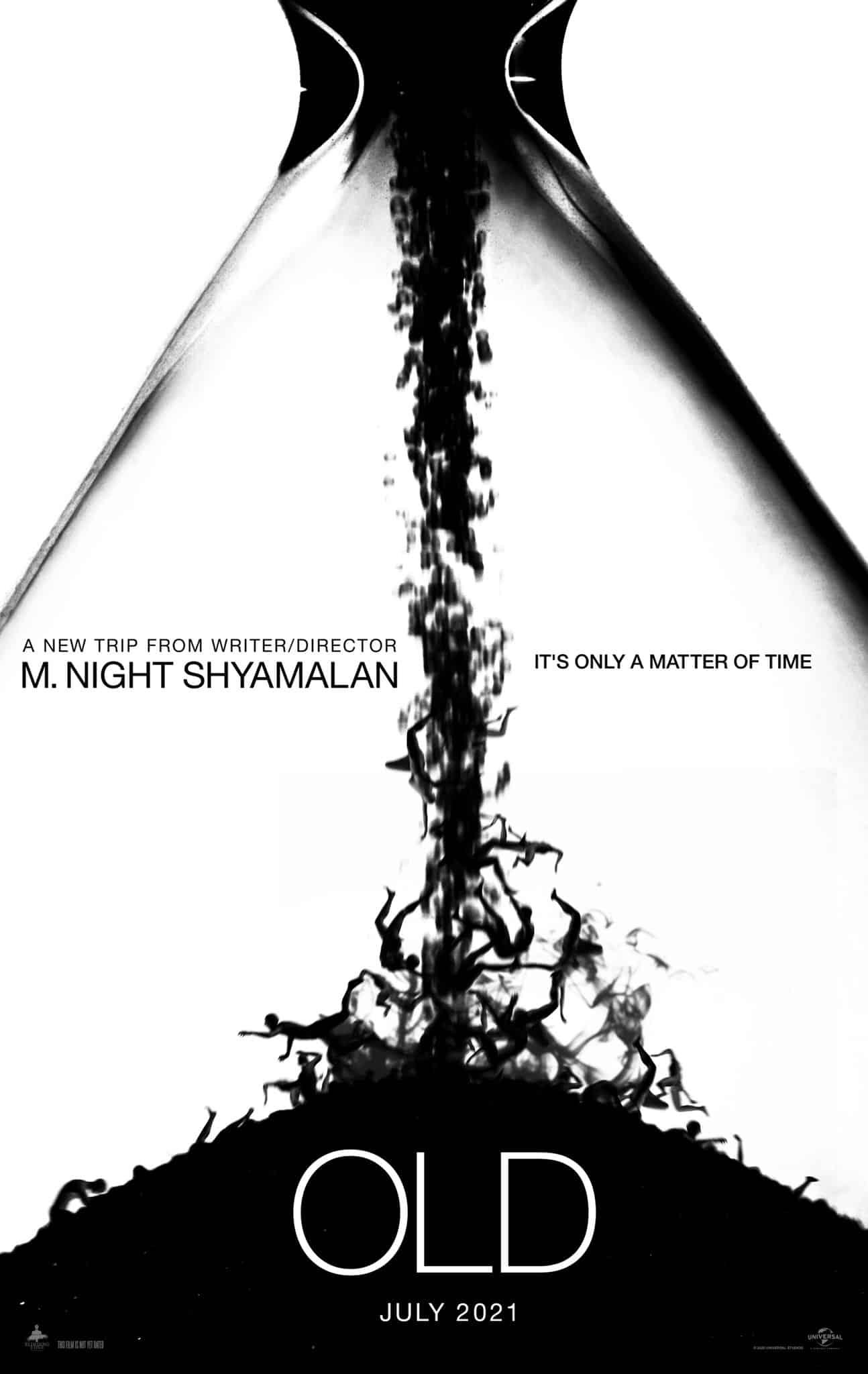 M. Night Shyamalan revela el título y el arte de su nueva película OLD