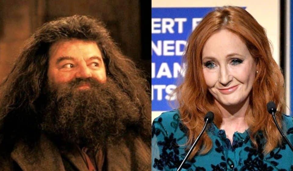 Robbie Coltrane (Hagrid) defiende a J.K. Rowling