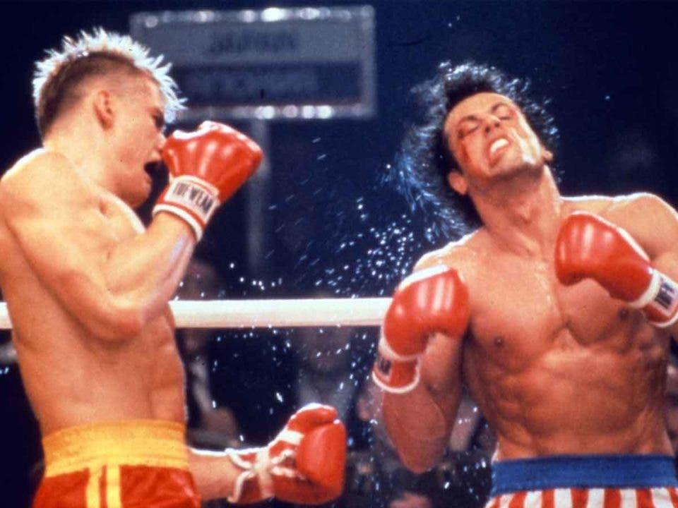 Sylvester Stallone comparte imágenes inéditas de la pelea de Rocky IV