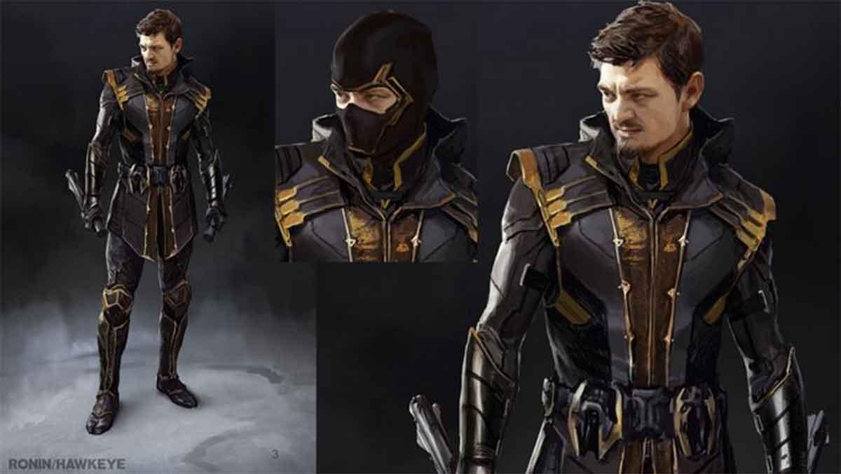 Revelan diseños alternativos de Ronin para Vengadores: Endgame