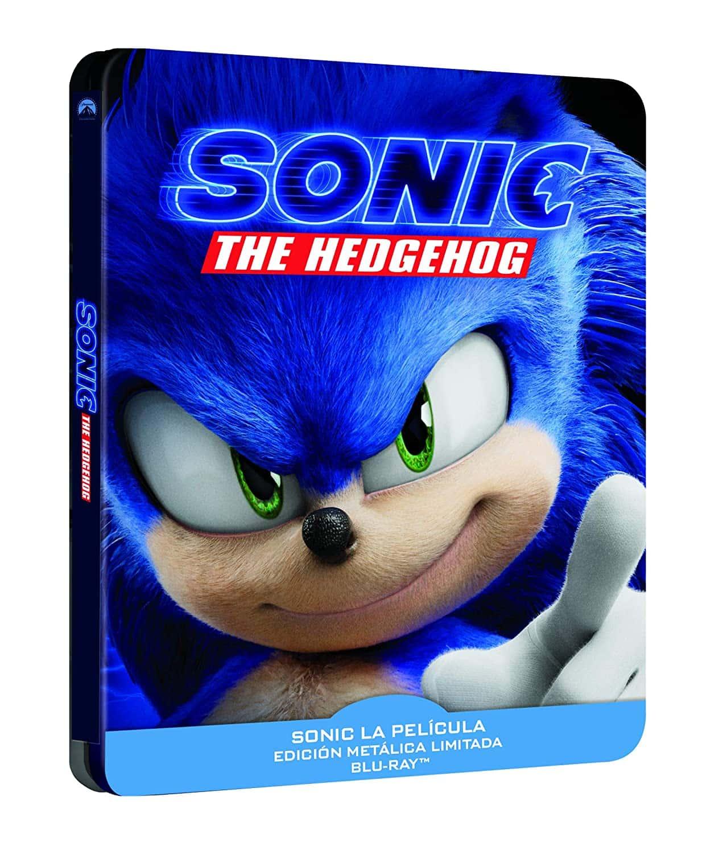 Sonic: La Película - Steelbook