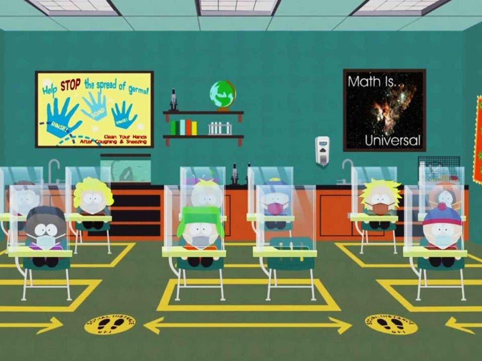 South Park estrenará un capítulo especial sobre la pandemia del COVID-19