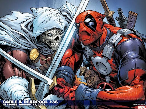 taskmaster vs deadpool