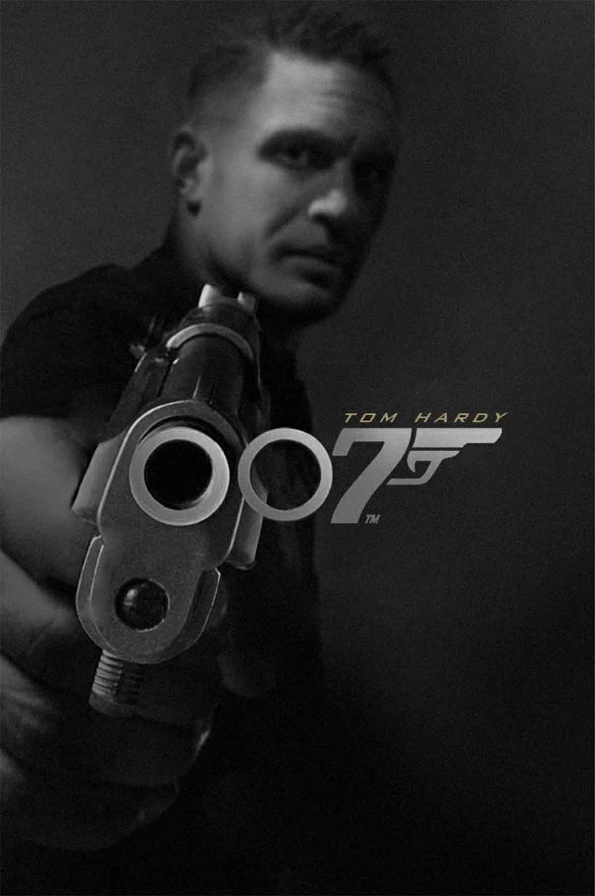 Espectacular Fan Art de Tom Hardy como el nuevo James Bond