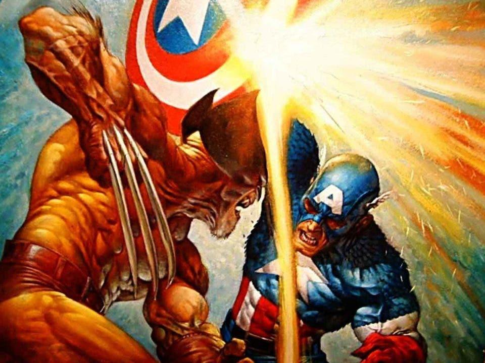 Wolverine sufre la peor pesadilla del Capitán América