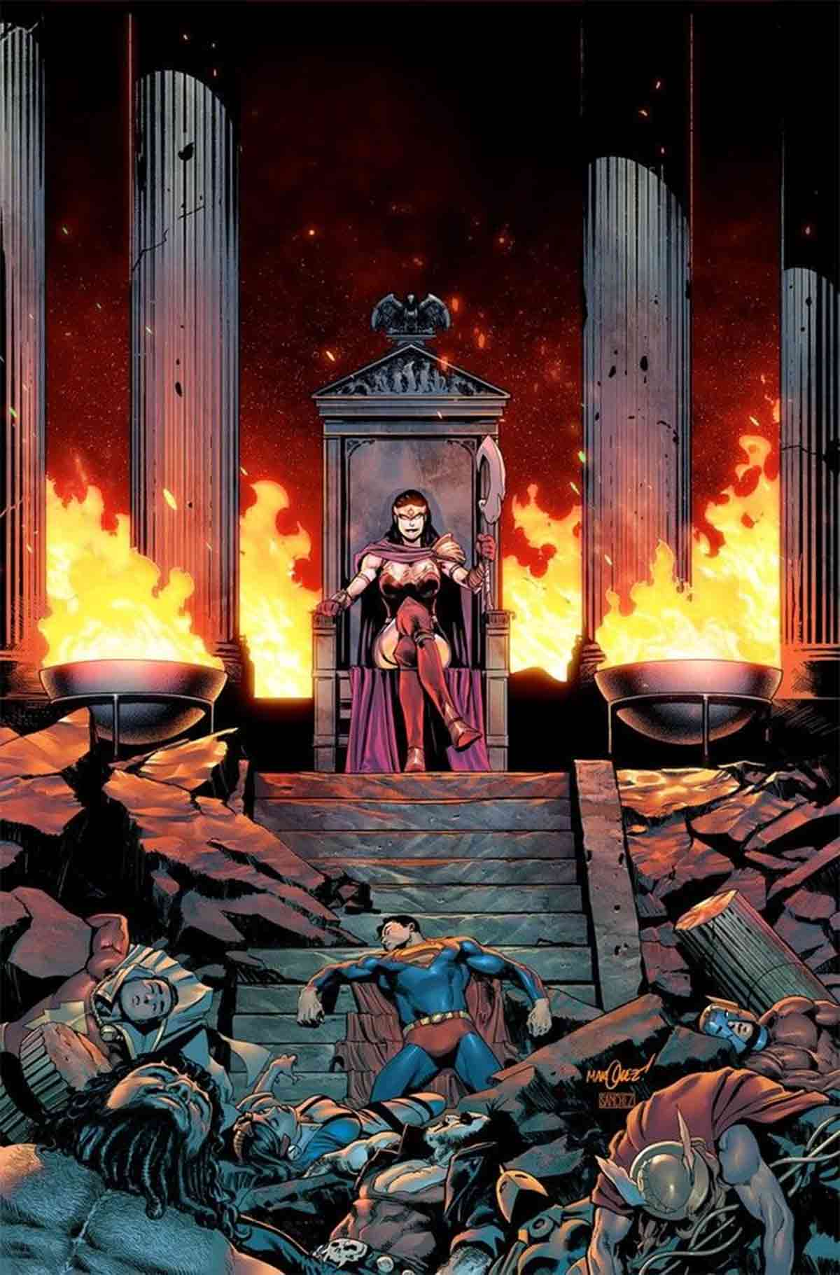 Una Wonder Woman malvada gobierna el Universo de DC Comics