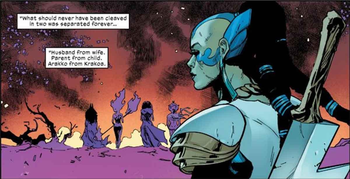 X-Men presenta a la mujer de Apocalipsis