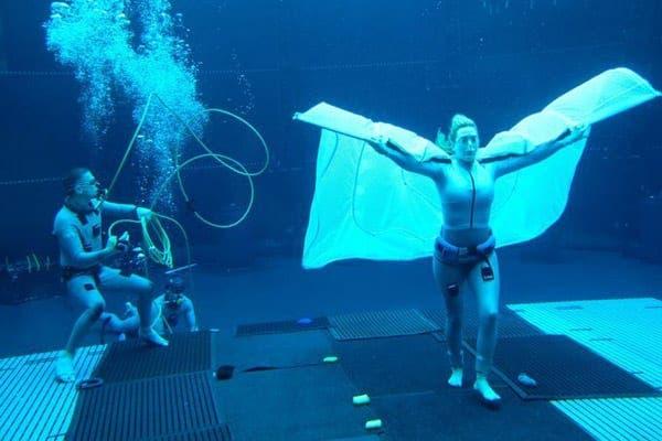 Avatar 2: Nuevas imágenes de Kate Winslet grabando bajo el agua