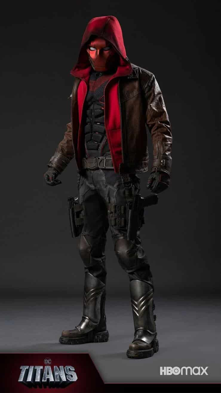 Traje de Capucha roja en Titans 3
