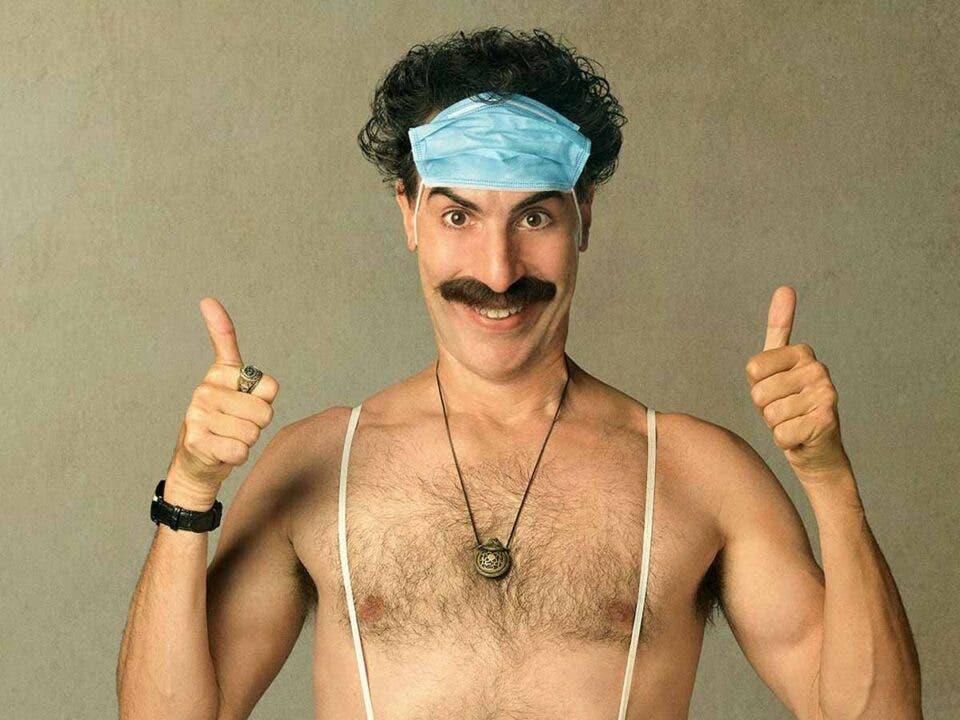 Borat 2: Sacha Baron Cohen comparte una anécdota increíble del rodaje