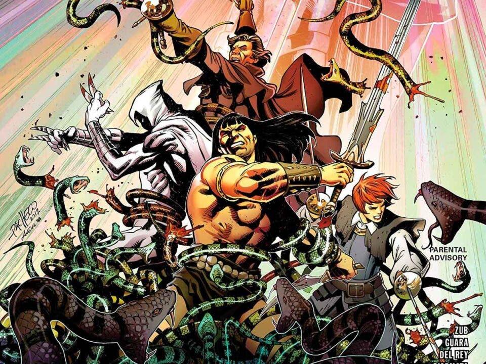 Panini Comics Conan La Guerra de la Serpiente